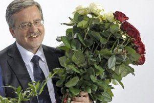 Коморовский избран новым президентом Польши