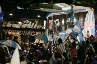 Збірну Аргентини зустріли на батьківщині як героїв