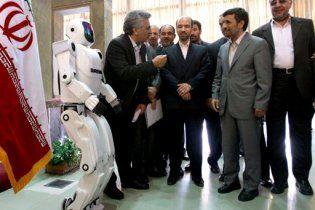 В Иране создали человекообразного робота