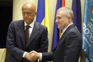 Коллина хочет вывести Украину на высочайший уровень судейства
