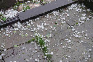 Киевщину засыпало снегом