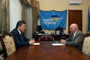 Янукович поміняв Стельмаха на Арбузова і в РНБО