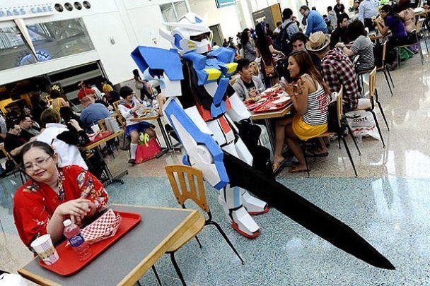 "Найбільша у США конвенція аніме ""Anime Expo 2010"""