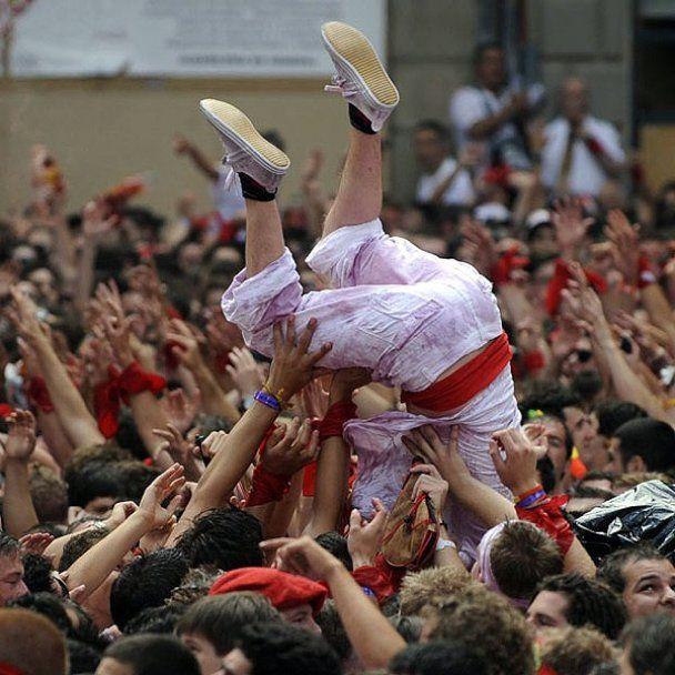 Вино і кров на святі Сан-Фермін у Іспанії