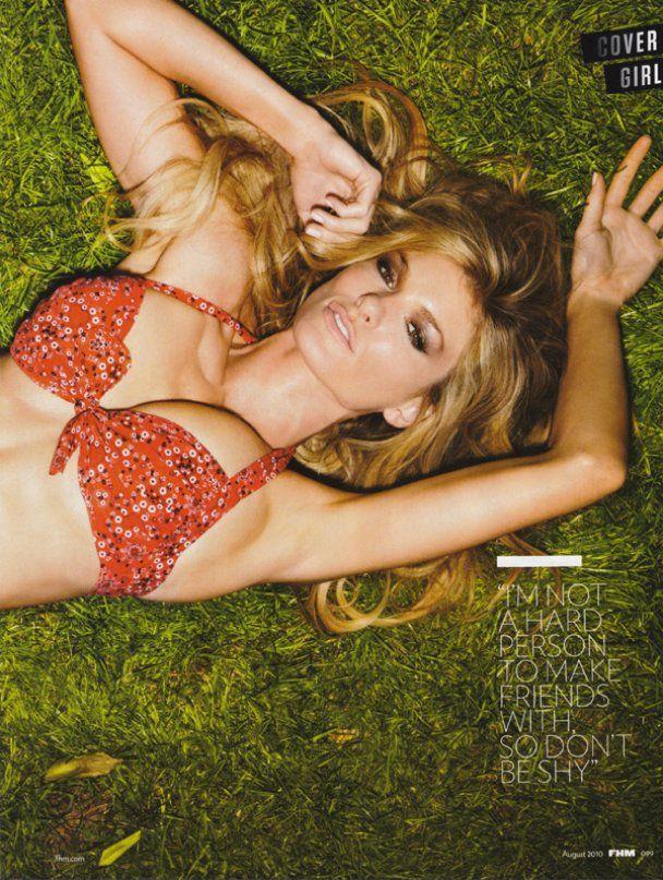 Маріса Міллер знялась для FHM Magazine