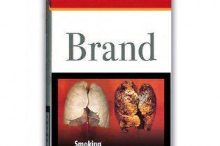 Разработанные ЕС картинки на пачках сигарет назвали слишком страшными для украинцев