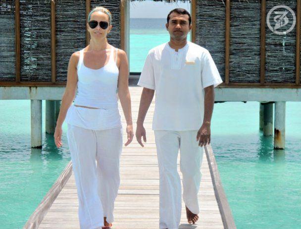 Жанна Фріске святкує день народження на Мальдівах
