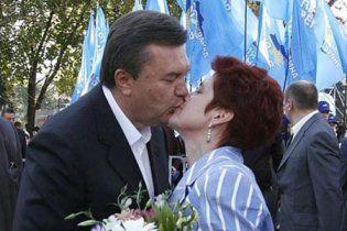 Людмила Янукович познайомилась з чоловіком, коли їй на ногу впала цегла