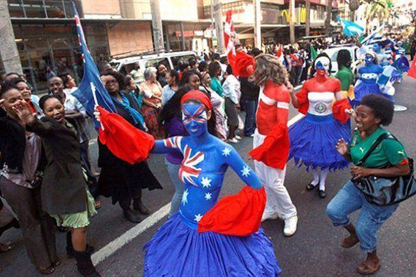 Карнавал на честь Чемпіонату світу в Південній Африці