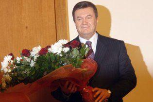 Янукович переніс святкування свого дня народження  на іншу дачу