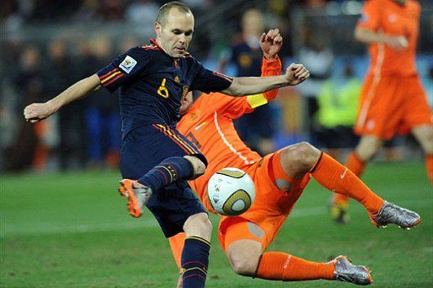 Іспанія 1:0 Нідерланди. Фінал ЧС-2010. Фотозвіт