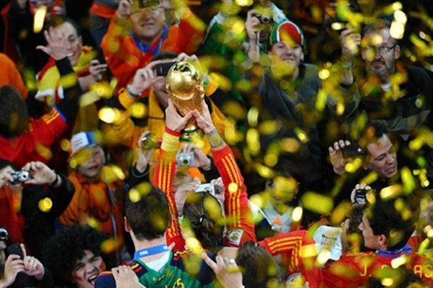 Испания впервые стала чемпионом мира по футболу
