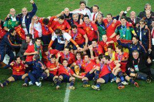 Фінал ЧС-2010. Над всією Іспанією безхмарне небо
