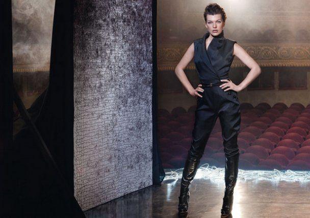 Вишукана Міла Йовович знялась для Escada