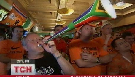 Киевские бары во время футбольного финала были переполнены