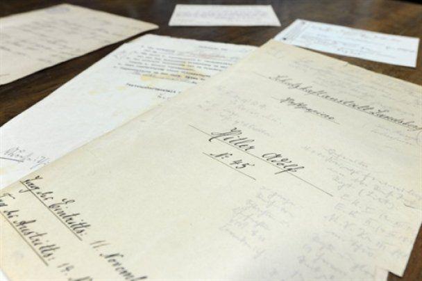 В Германии найдены неизвестные документы о жизни Гитлера