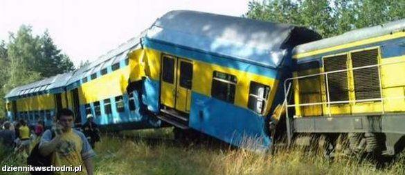 Залізнична аварія в Польщі