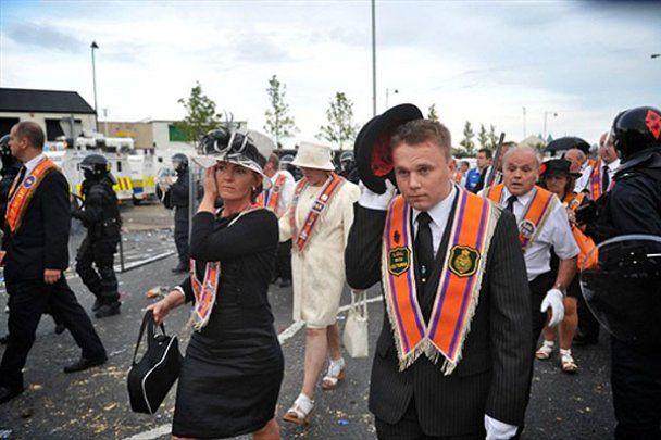 У Північній Ірландії спалахнули безлади
