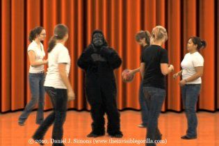 """""""Невидима горила"""" повернулася: відео-експеримент для перевірки уваги"""