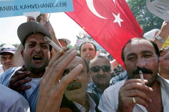 Туреччина проти заборони на паління