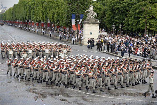 У Франції відзначили День взяття Бастилії