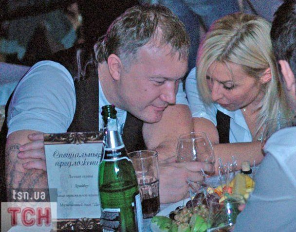 Тетяна Овсієнко відірвалась із оголеним молодиком на вечірці