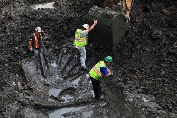 Археологічні розкопки, Нью-Йорк_1