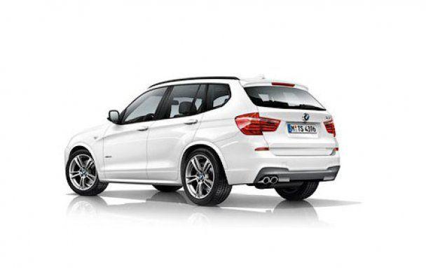 Компания BMW рассекретила кроссовер X3 нового поколения