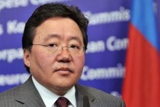 Президент Монголії опустився на дно Байкалу