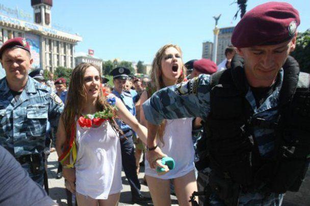 Лазня на Майдані від FEMEN