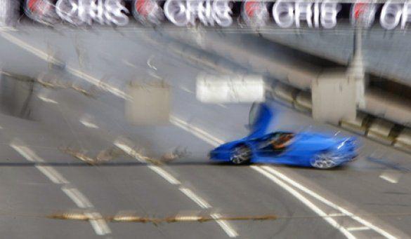 аварія на автошоу