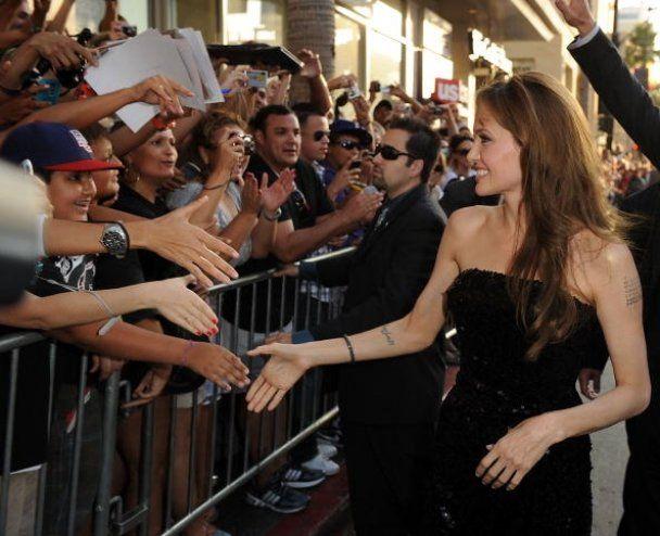 """Премьера фильма """"Salt"""" с Анджелиной Джоли"""