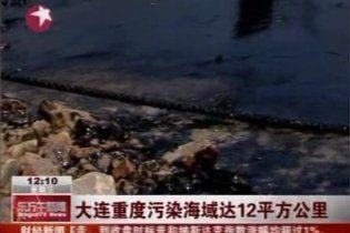 Из-за аварии в Желтое море попало около 1,5 тысячи тонн нефти
