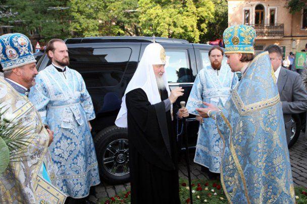 Патриарх Кирилл освятил Спасо-Преображенский собор