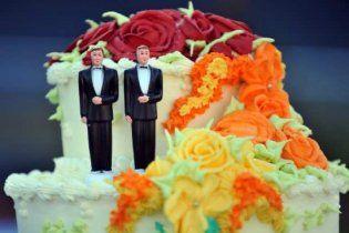 У Каліфорнії ввели мораторій на одностатеві шлюби