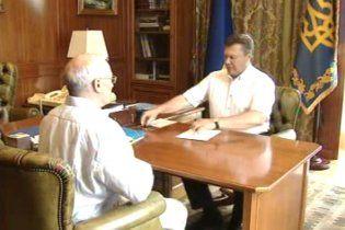 Янукович стал жертвой скрытой камеры (видео)