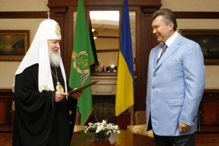Московський патріарх інкогніто прилетів до Криму на зустріч з Януковичем