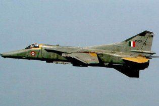 В Індії розбився МіГ-27