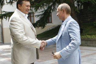 Путін подякував Януковичу за сприятливу атмосферу  та Чорноморський флот