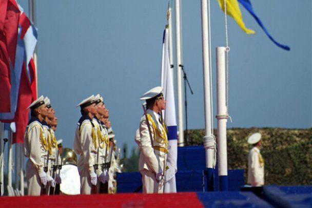 Празднование Дня ВМФ в Севастополе