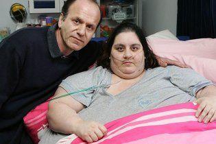 Самая толстая британка умерла, тайно питаясь фаст-фудом в клинике