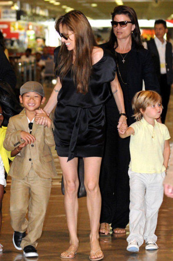 У Москві Анджеліна Джолі на півтори години загубила сина