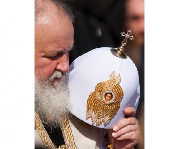 Патриарх Кирилл в Киеве