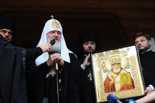 Патріарх Кирило завершить візит в Україну літургією в Києво-Печерській Лаврі