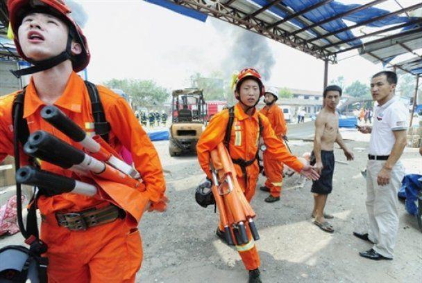 Кількість постраждалих під час вибуху на китайському заводі перевищила 300 осіб
