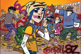 Группа Gorillaz выпустила собственную видеоигру