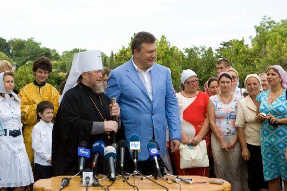 Янукович відсвяткував хрещення Русі у Севастополі_7