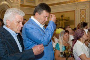 Янукович упевнений, що українці вистоять завдяки християнству