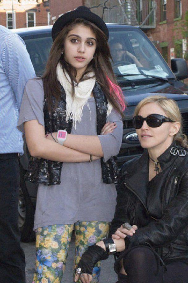 Мадонна и Лурдес выбрали модель для своей коллекции