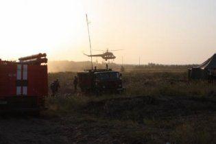 Пожары на торфяниках добрались до Полтавщины